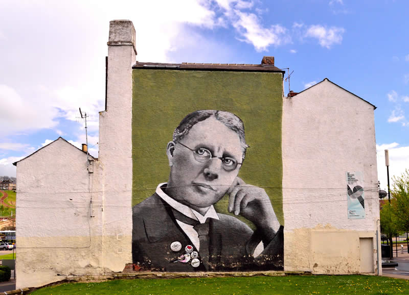 Harry Brearley wall mural
