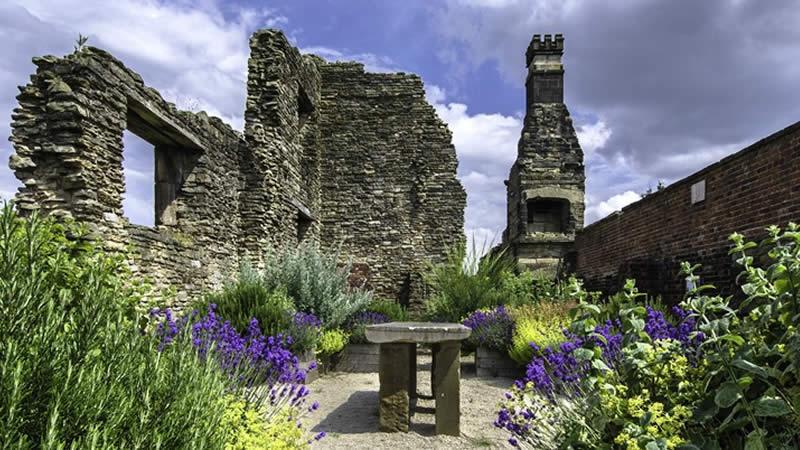 Manor Lodge apothecary garden