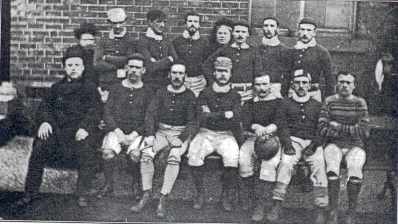 Sheffield Football Team 1876