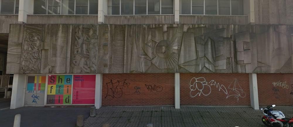 Bill Mitchell mural, Burgess Street