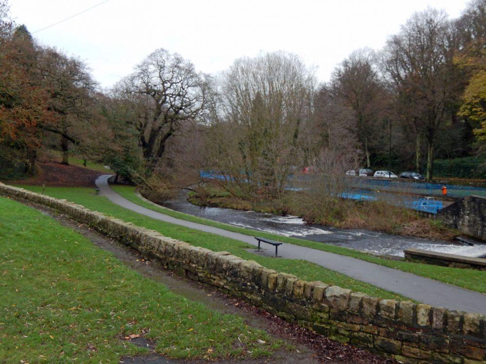 Hollins Bridge Mill location