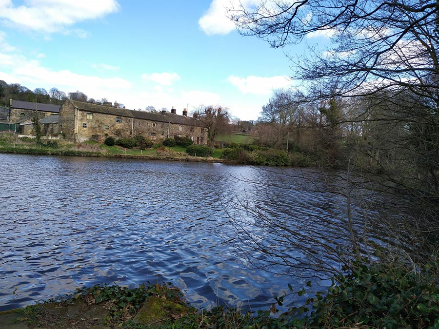 Loxley Old Wheel House and Dam
