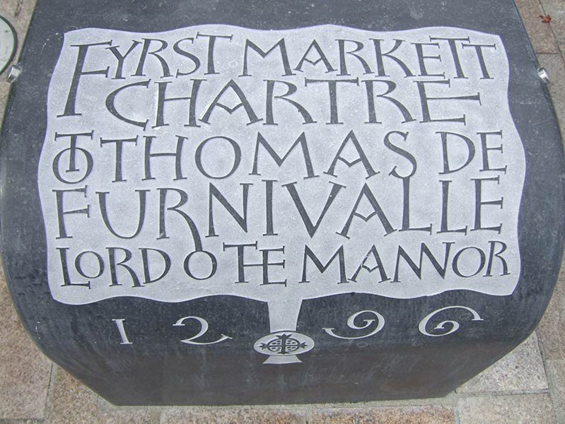 The Moor Market charter inscription
